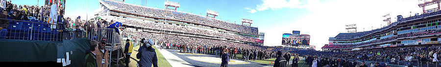 2014 Franklin Mortgage Music City Bowl Pre-game, before the game actually starts.