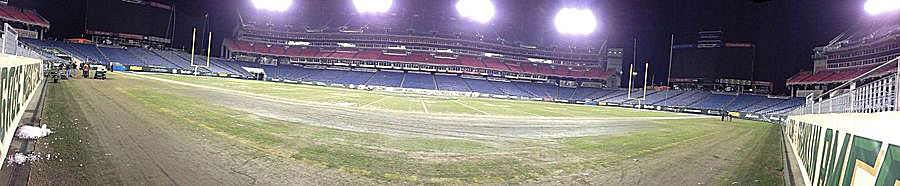 2014 Franklin Mortgage Music City Bowl, after everyone clears out