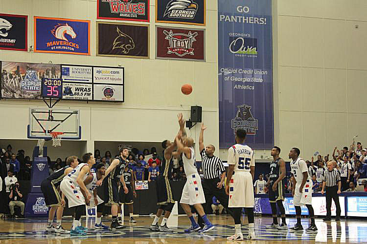 2014-15 MBB: GS Eagles at GSU Panthers