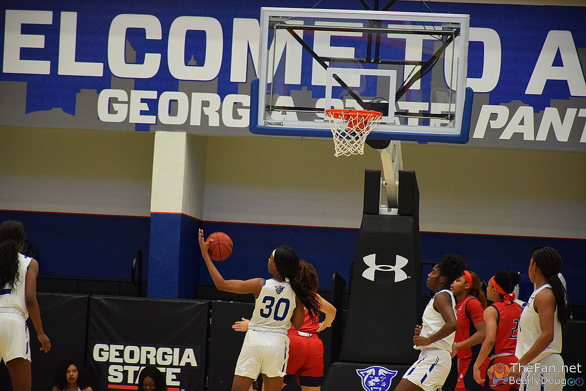 2019-20 WBB Game Photos – South Alabama Jaguars vs. Georgia State Panthers