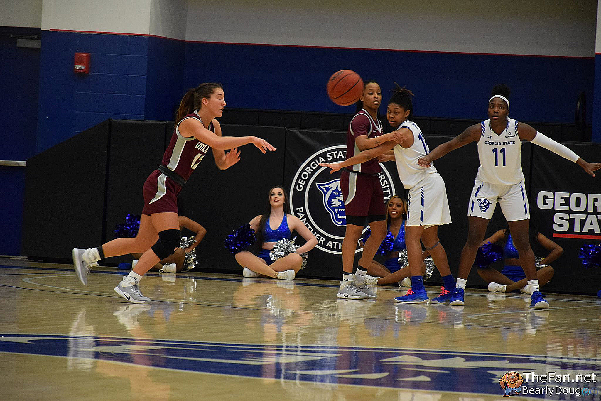 2019-20 WBB Game Photos – Little Rock Trojans at Georgia State Panthers